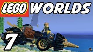 getlinkyoutube.com-LEGO Worlds - E07 - Drilling Vehicle! (Gameplay Playthrough 1080p60)