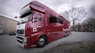 """Volvo Trucks - Canada - a winning team - """"Welcome to my cab"""""""