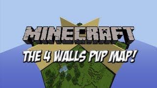 getlinkyoutube.com-Minecraft: The 4 Walls w/Andrei and Ninja (PVP Map)