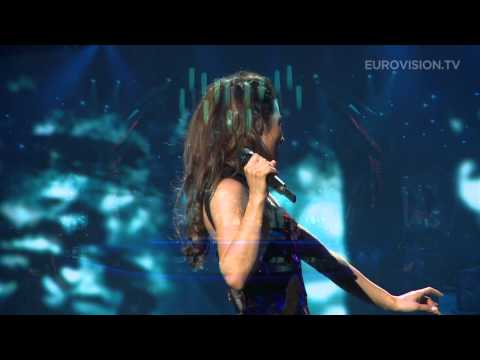 Zlata Ognevich - Gravity (Ukraine) impression of second rehearsal