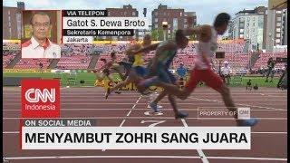 Jelang Kepulangan Lalu Zohri Sang Juara ke Tanah Air - Gatot S. Dewa Broto, Sekretaris Kemenpora