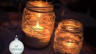 getlinkyoutube.com-DIY: Lanterna Natalizia Fai da te • Riciclo creativo • Christmas Lantern Crafts
