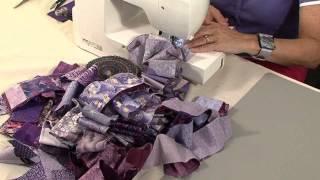 getlinkyoutube.com-40 minute scrap quilt with Valerie Nesbitt