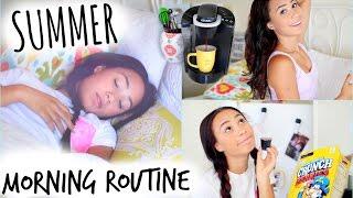 getlinkyoutube.com-Summer Morning Routine! 2014