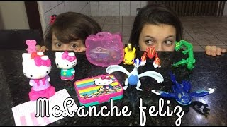 POKEMON E HELLO KITTY- MC LANCHE FELIZ JUNHO 2016