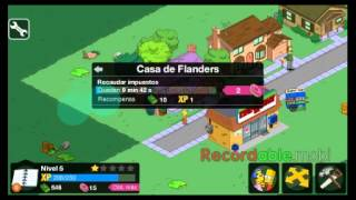 getlinkyoutube.com-Hackear Springfield dinero i rosquillas infinitas