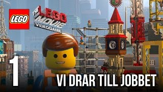 getlinkyoutube.com-The Jnx spelar The Lego Movie | #1 | Vi drar till jobbet