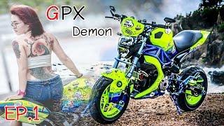 getlinkyoutube.com-GPX Demon 125 | แต่งสวย EP.1