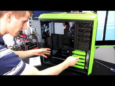 Cooler Master HAF X NVIDIA Edition Gaming Computer Case Unboxing & First Look Linus Tech Tips