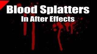 getlinkyoutube.com-Create Realistic Blood Splatters in After Effects
