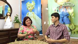 getlinkyoutube.com-Entrevista com Ilma Brescia - Bonecas de Pano