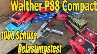 getlinkyoutube.com-Walther P88 Compact Schreckschuss Belastungstest