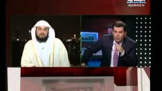 getlinkyoutube.com-رد العريفي على كذبه ( جهاد النكاح ) + حقاره ووقاحه مقدم قناة الجديد مع الشيخ