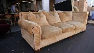 getlinkyoutube.com-How to Repair a Sagging Sofa : How to Repair a Sagging Sofa