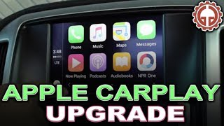 getlinkyoutube.com-Apple CarPlay, Android Auto, and Factory Navigation OEM Upgrade - UNBOX, INSTALL, & DEMO