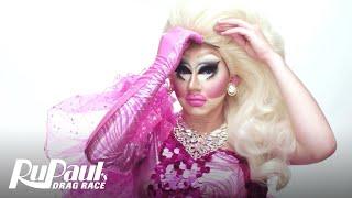 RuPaul's Drag Race | RuVealing Trixie Mattel's Bubble Gum Fantasy Makeup Tutorial | Logo