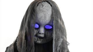 getlinkyoutube.com-Creepy Rising Animated Doll - Spirit Halloween
