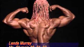 getlinkyoutube.com-Bev Francis on female bodybuilding  lenda murray  Posing  Mr Olympia 1992
