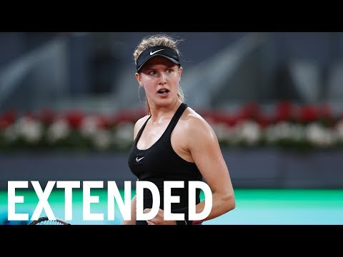 Genie Bouchard Talks Defeating Maria Sharapova