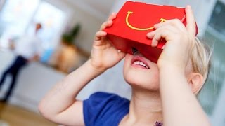 McDonald's Are Now Making Their Own VR Headsets