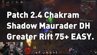 getlinkyoutube.com-Patch 2.4.1 Chakram Shadow Marauder Demon Hunter - [Build is good on new PTR]