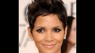 Halle Berry Inspired Haircut Tutorial