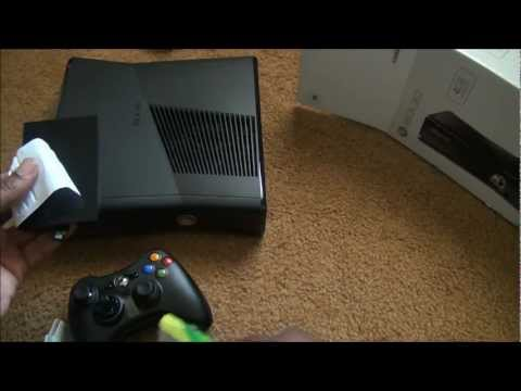 Xbox 360 Slim Unboxing!!!! -KP4vULRsq60