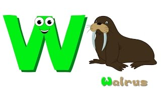 Phonics Letter- W song