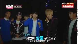 getlinkyoutube.com-[繁體特效中字] 150620 MonstaX Show champion Backstage Monsta X