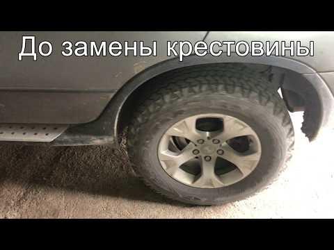 Где крестовина карданного вала в BMW X3