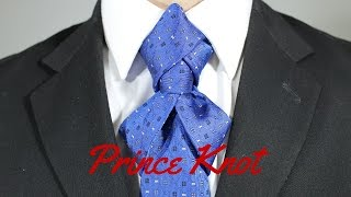 getlinkyoutube.com-How To Tie a Tie Prince Knot