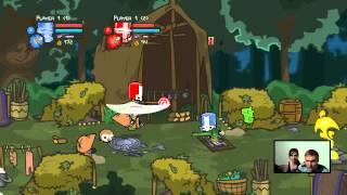 getlinkyoutube.com-Para Gra (Castle Crashers) #1 Las pełen niespodzianek :)