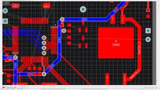 Perun - Microclimate controller with graphical user interface Altium