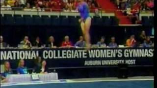 getlinkyoutube.com-Awesome Tumbling on Floor Exercise in NCAA Women's Gymnastics