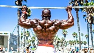 getlinkyoutube.com-Kali Muscle - BACK WORKOUT (Las Vegas)