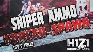 getlinkyoutube.com-H1Z1 // Need Ammo? - Forced Ammo Spawn!