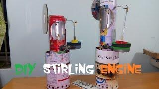 getlinkyoutube.com-[Tutorial] How To Make stirling engine, very simple