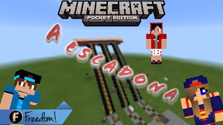 getlinkyoutube.com-A escadona (Mapa) - Minecraft PE 0.11.0  ft. FlaBr