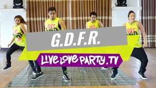 getlinkyoutube.com-GDFR by Flo Rida | Zumba® | Dance Fitness | Live Love Party