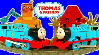 getlinkyoutube.com-Thomas & Friends Trackmaster DELUXE Avalanche Escape Thomas Vs Thomas