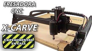 X-Carve Fresadora CNC + Ganador del Sorteo Drone Walkera Runner 250 (Experimentar En Casa)