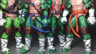 getlinkyoutube.com-TMNT custom style 4.00in action figures. Hope you all enjoy!