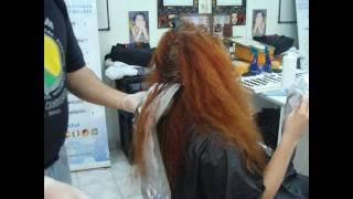 getlinkyoutube.com-Change in Hair Color - Cambio de Color