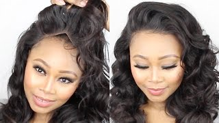 getlinkyoutube.com-How To Make A Lace Frontal Wig Tutorial || Start To Finish || No Glue! No sewn! NO! BEGINNERS.