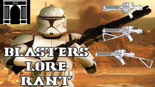Star Wars Lore Rant, Blasters! could they work?