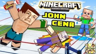 getlinkyoutube.com-JOHN CENA ATE MY YOGURT!! (MINECRAFT WWE SURPRISE BATTLE) FGTEEV Glowstone Dust Race 2.0