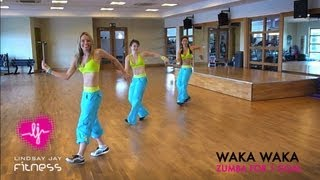 getlinkyoutube.com-ZUMBA FOR '1 GOAL'- SHAKIRA'S WAKA WAKA