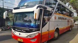 getlinkyoutube.com-KERENNYA Armada Bus Harapan Jaya Terbaru | Jetbus Setra SHD