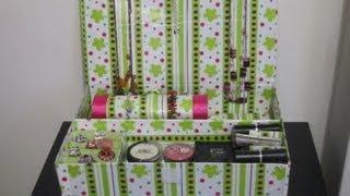 organizador para accesorios y cosmeticos
