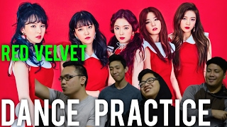 RED VELVET | DANCE PRACTICE (ROOKIE) Reaction